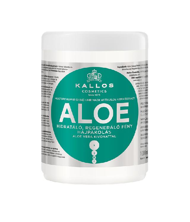Kallos Aloe maska do włosów duży słój 1000ml