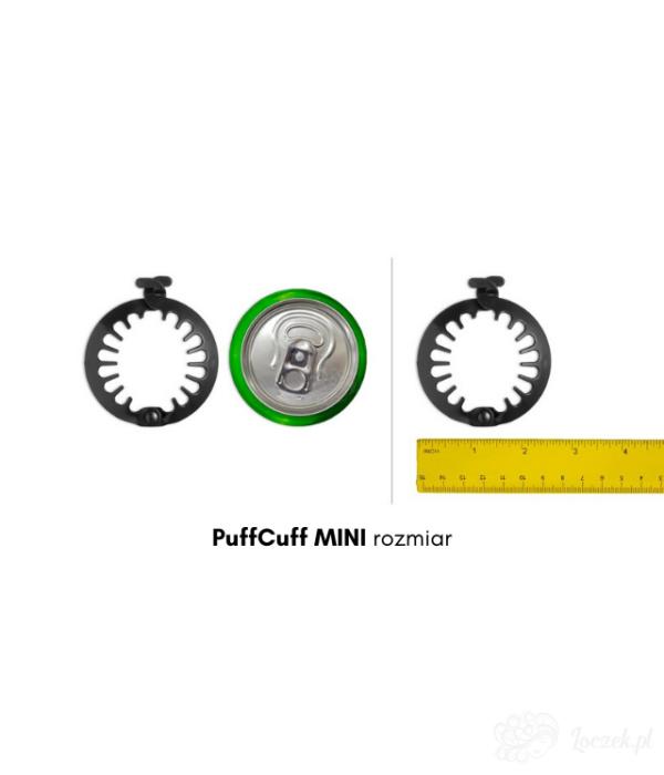 PUFFCUFF MINI - okrągła spinka do włosów kręconych