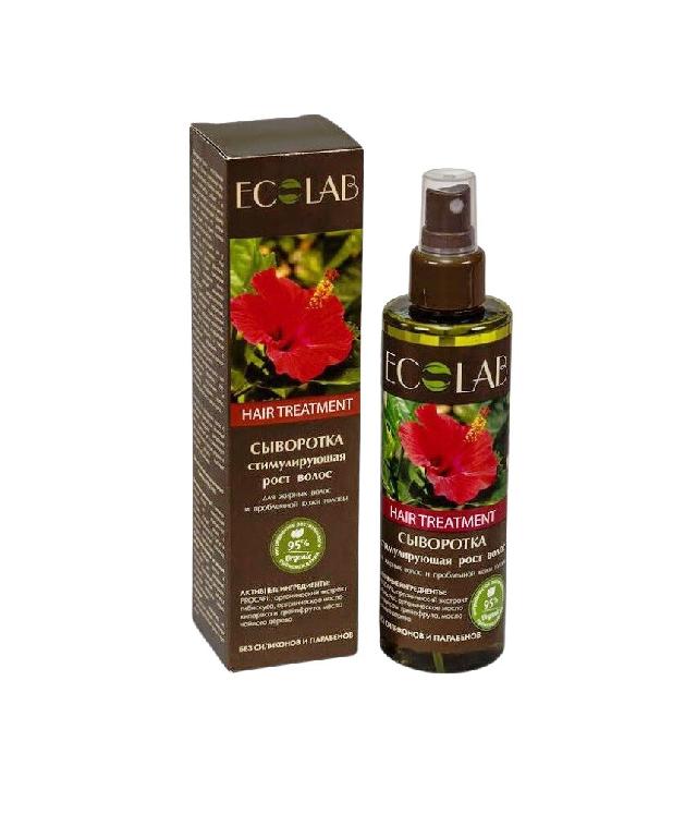 Eco Laboratorie Serum na porost wcierka do skóry głowy z hibiskusem butelka z atomoizerem 200 ml