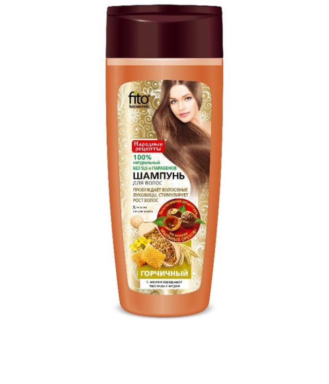 Fitokosmetik łagodny szampon gorczycowy 270 ml