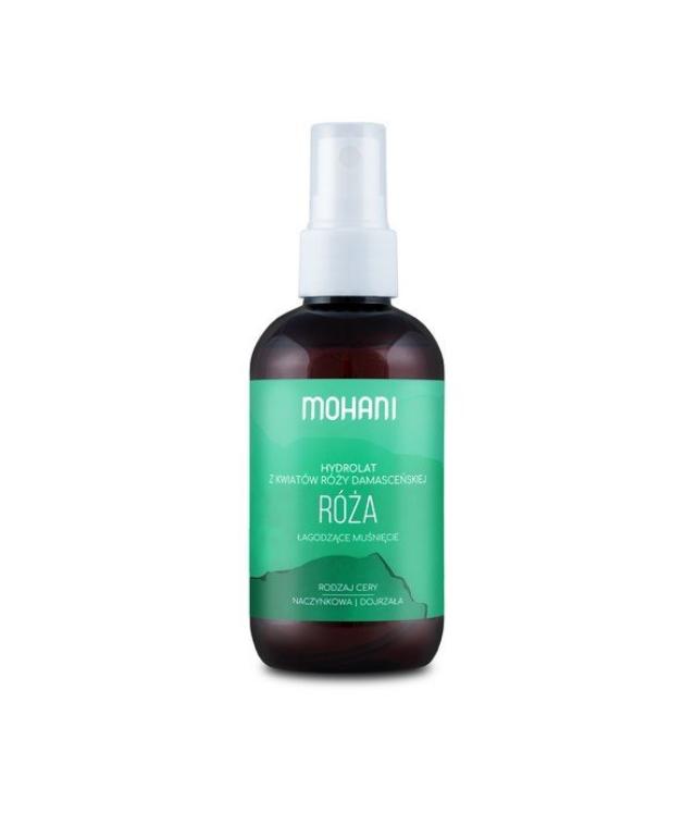 Mohani Hydrolat Różany 100 ml w szklanej butelce z atomizerem