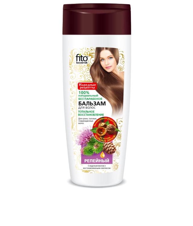 Fitokosmetik balsam łopianowy na porost włosy 270 ml
