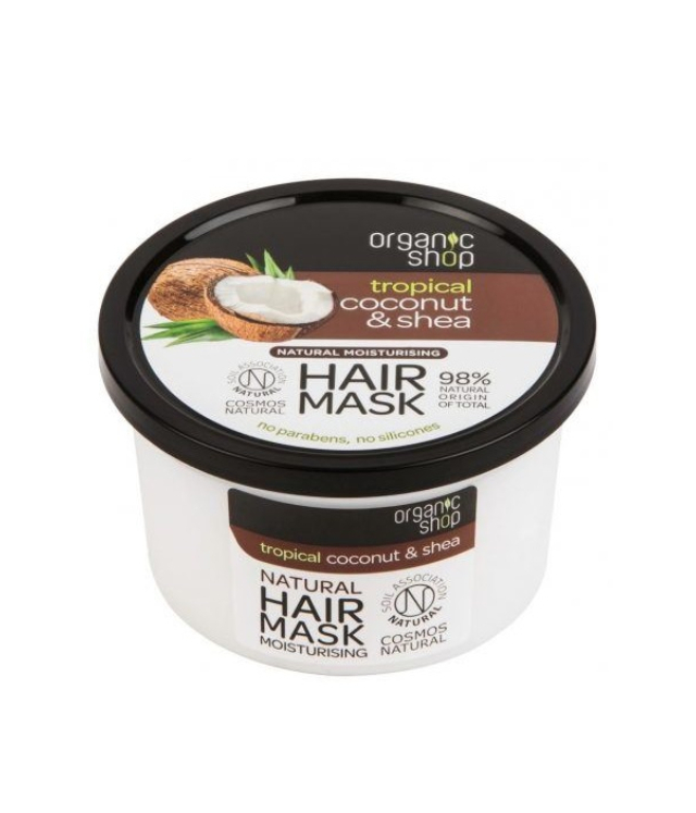Organic Shop Coconut & Shea Hair Mask 250 ml