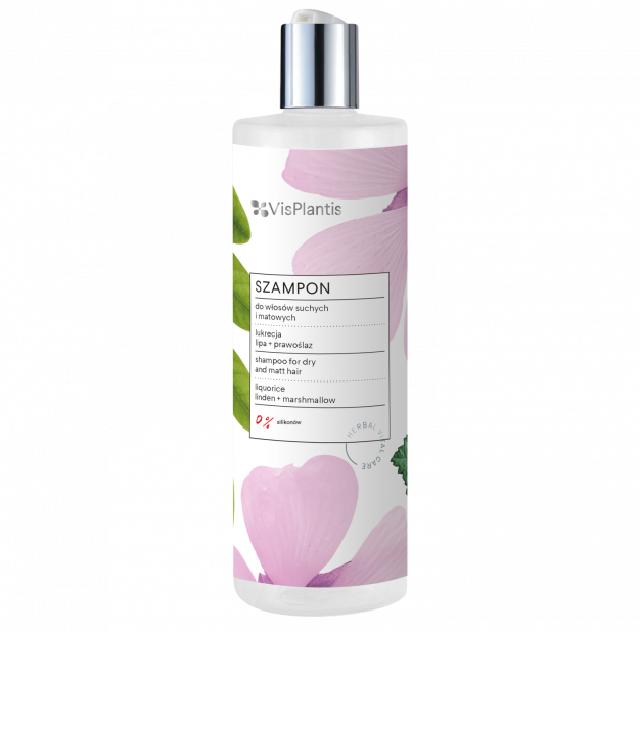 Vis Plantis Oczyszczający szampon do włosów z lukrecją butelka 400ml