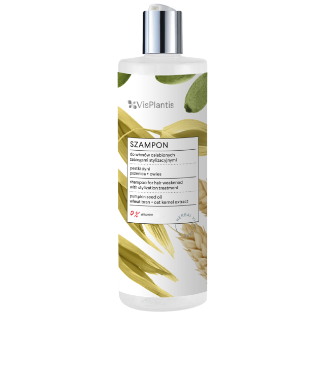 Vis Plantis Pestki Dyni Szampon do włosów osłabionych butelka 400 ml