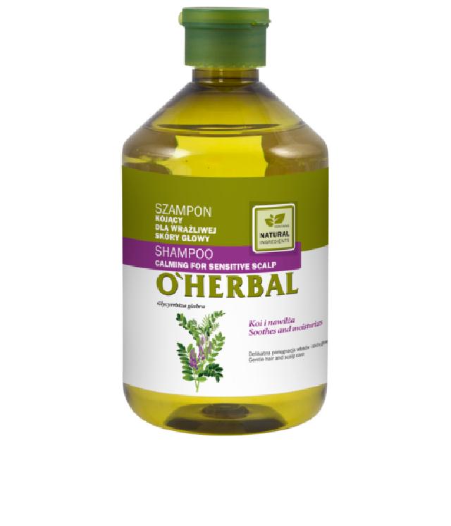 O'Herbal Kojący szampon do wrażliwej skóry głowy