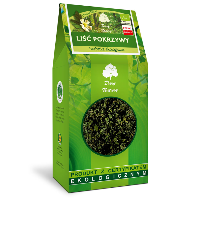 Dary Natury Liść Pokrzywy susz ziołowy w pudełku