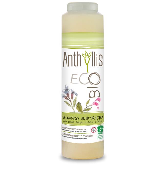 Anthyllis Szampon Przeciwłupieżowy z szałwią butelka 250 ml