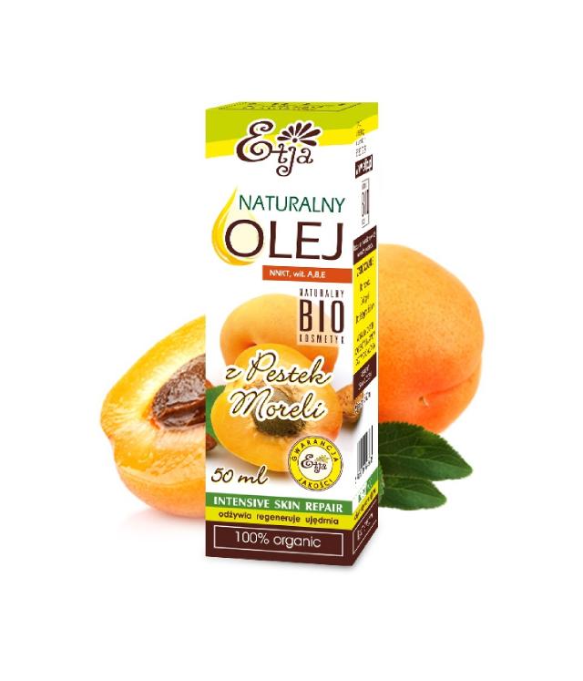 Etja olej z pestek moreli bio opakowanie 50 ml