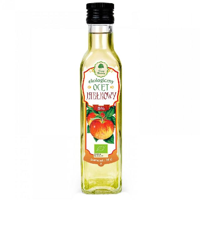 Dary Natury Ocet Jabłkowy szklana butelka 250 ml