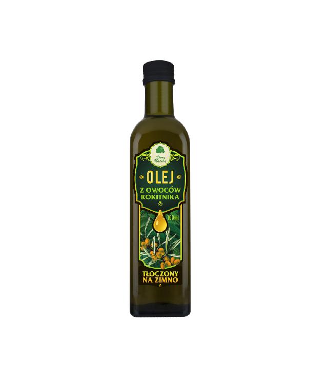 Dary Natury - zimnotłoczony olej rokitnikowy