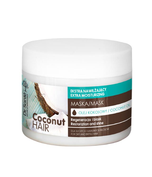 Dr. Sante Coconut Hair maska do włosów zniszczonych 300 ml