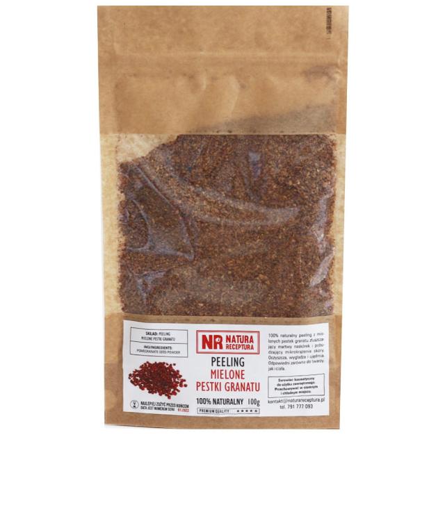 Natura Receptura Peeling Z Pestek Granatu 100 g