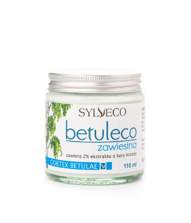 Sylveco Betuleco zawiesina 2% ekstraktu z kory brzozy alkoholowa wcierka do problematycznej skóry słoiczek 110 ml