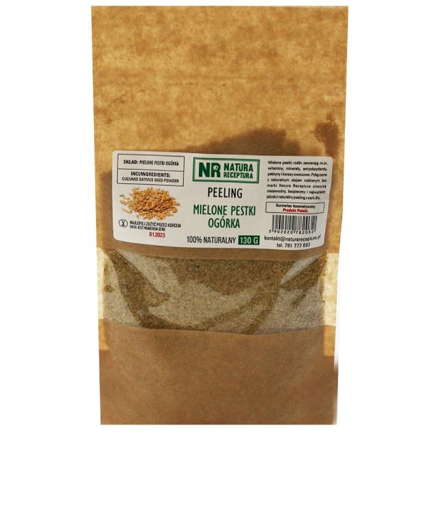 Natura Receptura Peeling Z Pestek Ogórka 130 g