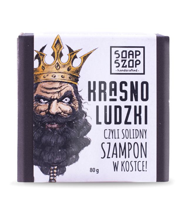 Soap Szop Krasnoludzki Szampon w kostce 80 g