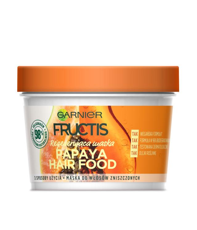 Garnier Fructis Papaya Hair Food maska 390 ml