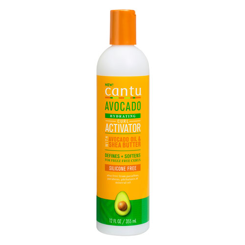 CANTU CURL ACTIVATOR CREAM AVOCADO – aktywator skrętu do włosów falowanych i kręconych
