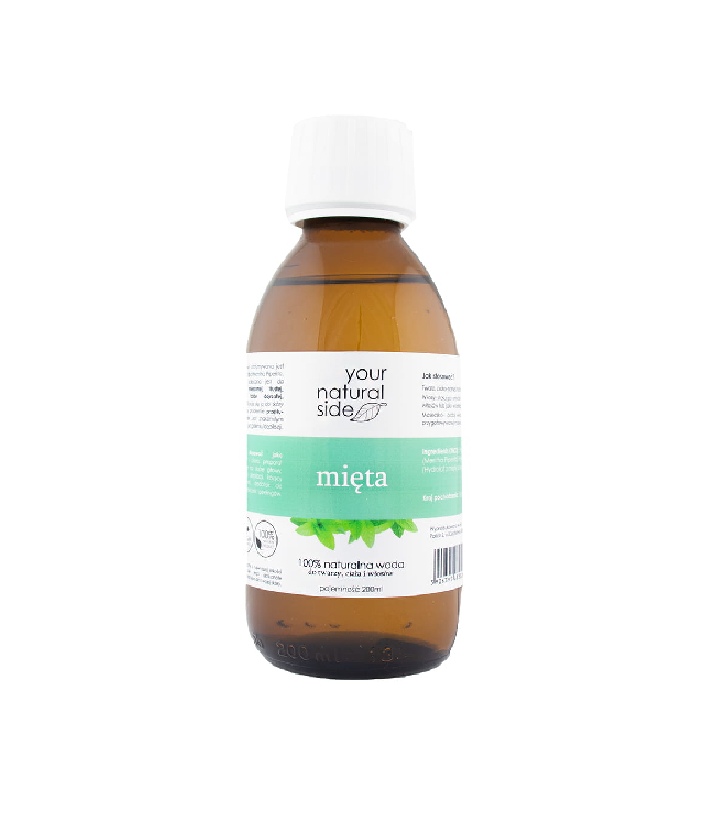 Your Natural Side Hydrolat miętowy butelka 200ml