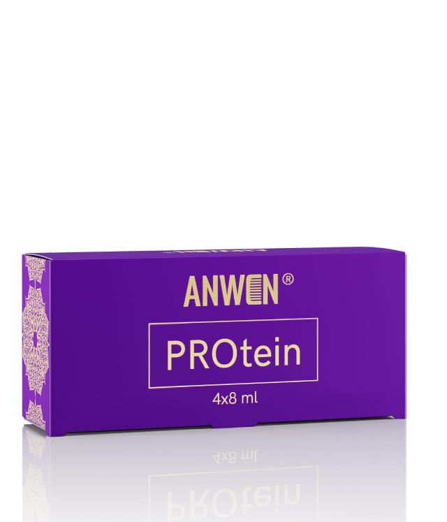 Anwen PROtein kuracja proteinowa 4 x 8 ml szklane ampułki 1