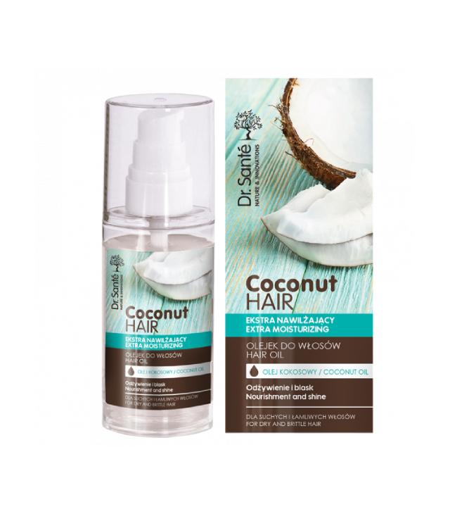 Dr. Sante Coconut Hair serum silikonowe na końcówki 50 ml