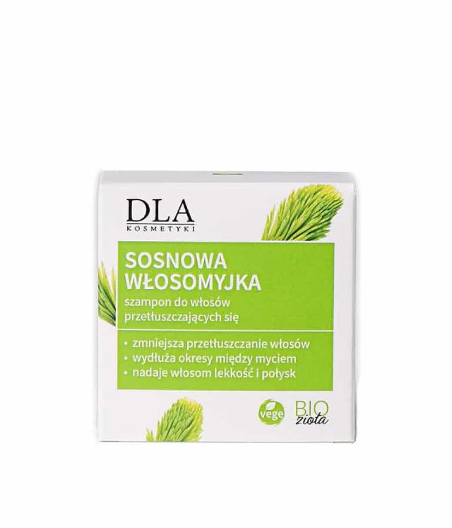 Kosmetyki DLA Sosnowa Włosomyjka szampon w kostce 35 g