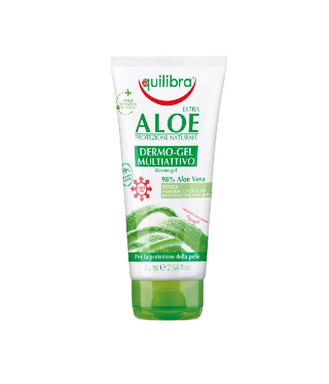 Equilibra Dermo Gel nawilżający żel aloesowy do włosów i ciała tuba 75 ml