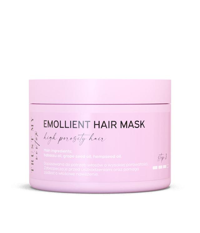 Trust My Sister Włosy Wysokoporowate emolientowa maska słoik 150 ml