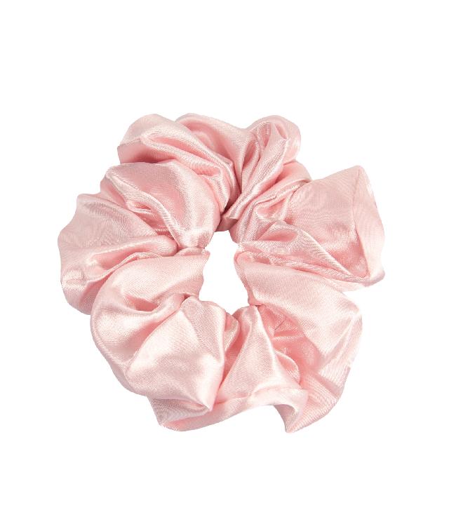 OnlyGHD satynowa scrunchie kolor jasny róż