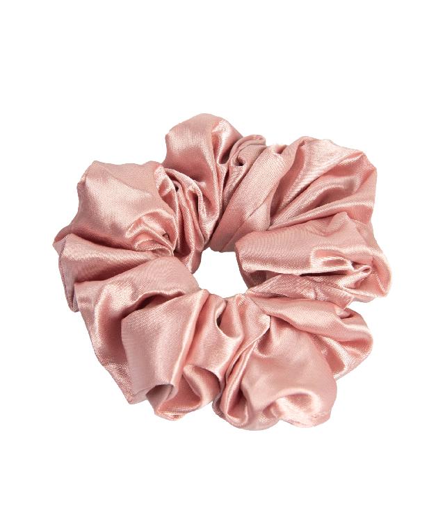 OnlyGHD satynowa scrunchie kolor rose gold