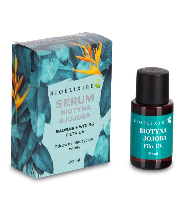 Bioelixire Biotyna&Jojoba serum silikonowe 20 ml
